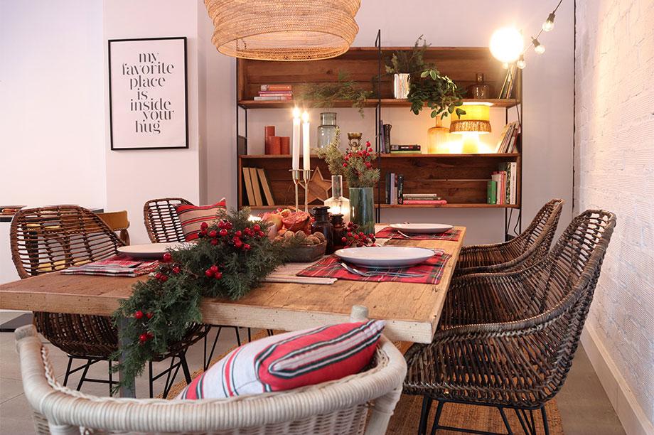 Mesas de Navidad donde no hay cabida para los tópicos navideños