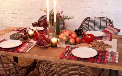Mesas de Navidad de MisterWils pensadas para vivirlas en las fiestas 🥂
