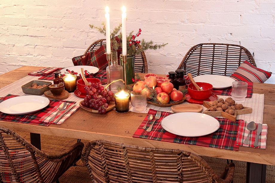 Mesas de Navidad de MisterWils pensadas para vivirlas en las fiestas