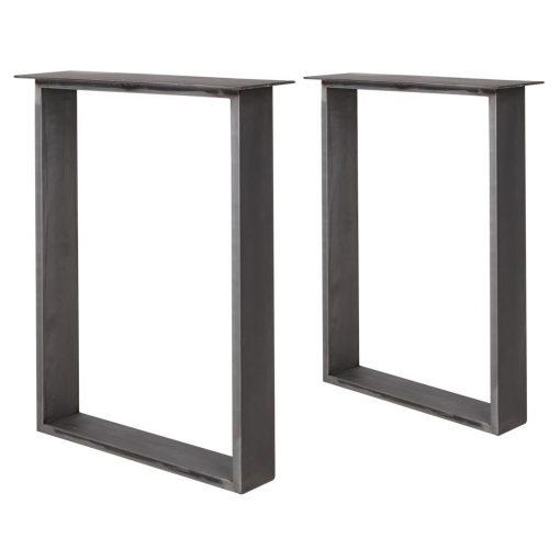 PAKIRA BARNIZ Estructura de acero para mesa estilo industrial. Encuéntrala en MisterWils. Más de 4000m² de exposición y almacén.