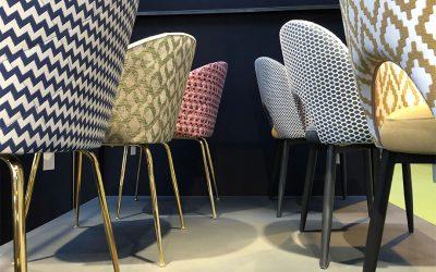 Las nuevas sillas tapizadas que presentamos en la Feria de Zaragoza