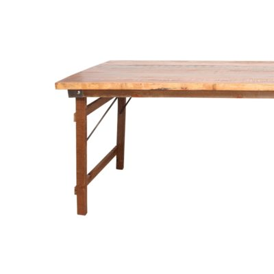 FOLDING ESTRUCTURA Estructura de madera para mesa plegable. Encuéntrala en MisterWils. Más de 4000m² de exposición y almacén.