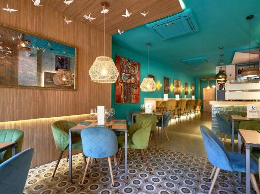 La jaula de papel, un restaurante con mucho arte en el centro de Sevilla