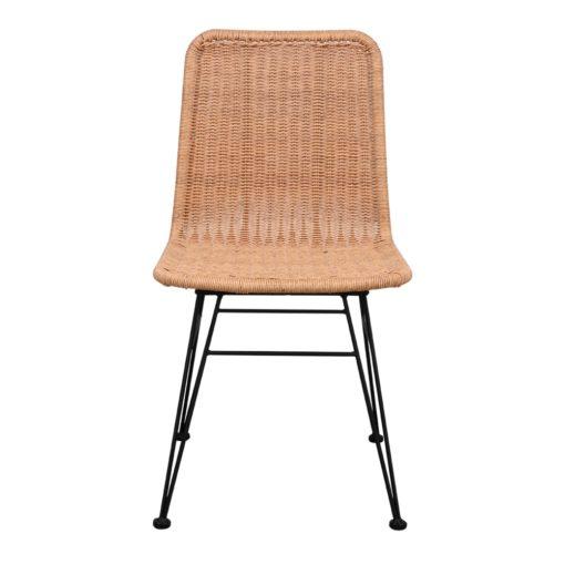 silla de exterior HOMELY fabricada en rattán sintético 2