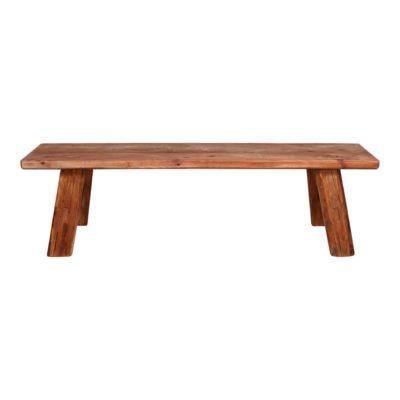 AMALFI Banco estilo rústico vintage fabricado en madera de pino reciclado. Encuéntralo en MisterWils. Más de 4000m² de exposición y almacén.