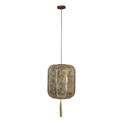 SUONI Lámpara de techo inspirada en los faroles chinos. Encuéntrala en MisterWils. Más de 4000m² de exposición y almacén.