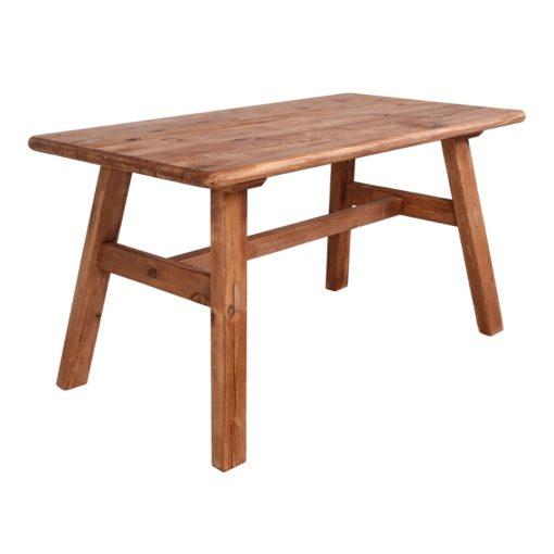 FINLAND Mesa estilo rústico vintage fabricada en madera de pino reciclado. Encuéntrala en MisterWils. Más de 4000m² de exposición y almacén.