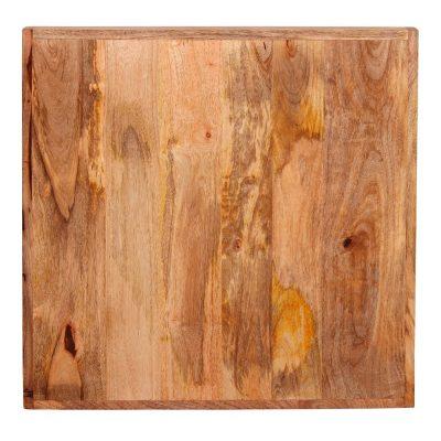 BENARES Tapa de madera de mango natural con canto regruesado de 5 cm. Encuéntrala en MisterWils. Más de 4000m² de exposición y almacén.