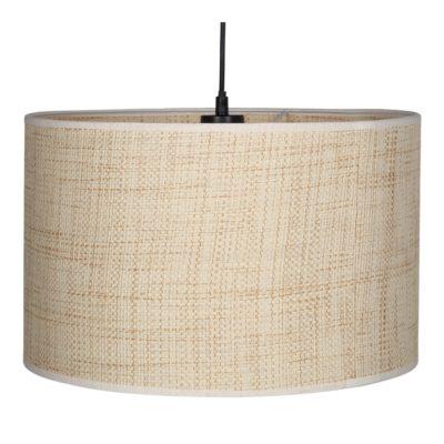 LÁMPARA DE TECHO BORNOLY fabricada en rejilla de bambú. Encuéntrala en MisterWils. Más de 4000m² de exposición y almacén.