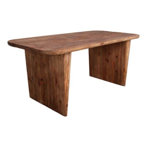 YONOH Mesa estilo rústico vintage fabricada en pino reciclado. Encuéntrala en MisterWils. Más de 4000m² de exposición y almacén.