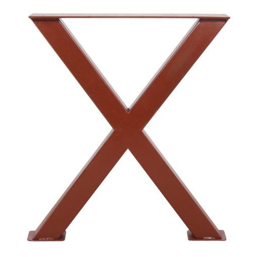 MAYA ESTRUCTURA ÓXIDO Estructura de acero estilo industrial cruz. Encuéntrala en MisterWils. Más de 4000m² de exposición y almacén.