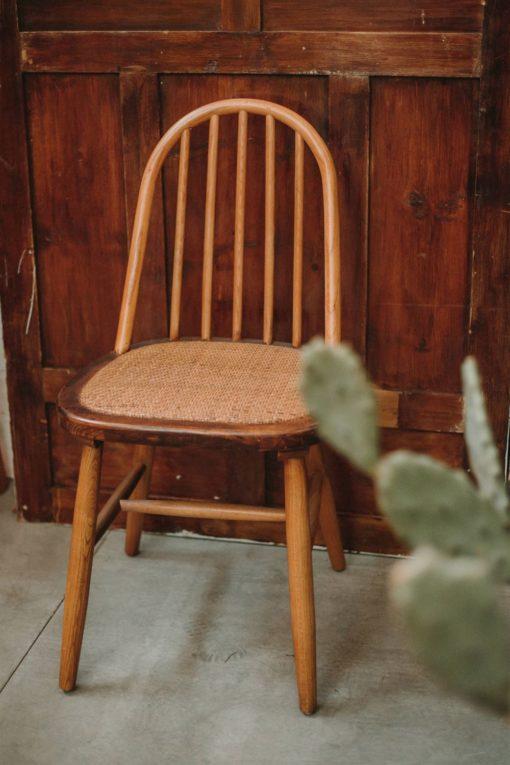 silla de madera APPLE de estilo Windsor/ Ercol 6