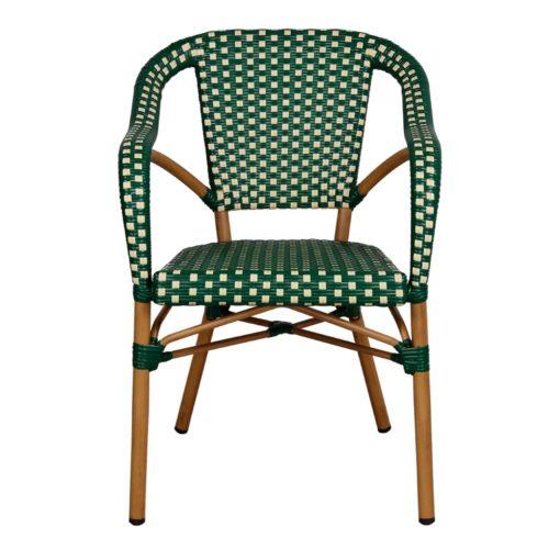 silla de exterior MINARET vista de frente