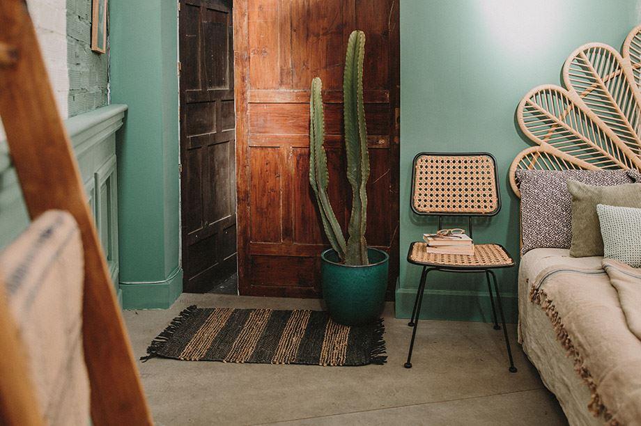 Cabeceros de rattan para dar un toque tropical a tu dormitorio