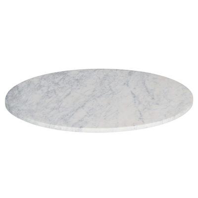 MARVELOUS Tapa circular de mármol blanco. Medidas: ⌀70. Encuéntralo en MisterWils. Más de 4000m² de exposición y almacén.