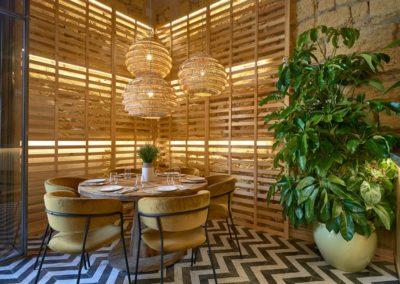 La Cantina Kulinaria un proyecto de interiorismo del equipo de MisterWils. En el mes de julio abrió sus puertas en Osuna La Cantina Kulinaria