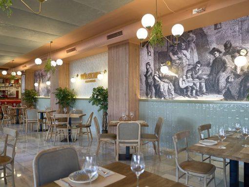 Renovación del restaurante Doña Encarna por FABI, Factoría de buenas ideas.