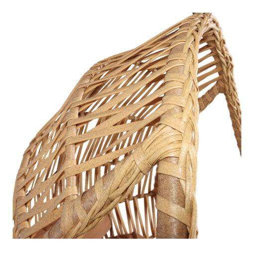 ORUGA Silla colgante tipo Egg Chair de rattán sintético con soporte incluido. Encuéntrala en MisterWils. Más de 4000m² exposición y almacén3
