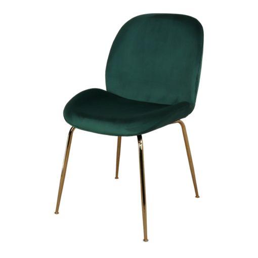silla tapizada SANDO VERDE 1