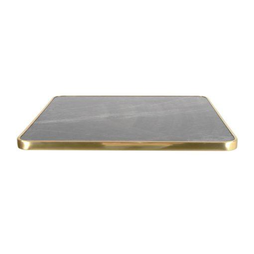 LORNA NEGRA Tapa para mesa fabricada en contraplacado estratificado en acabado calacatta. Encuéntrala en MisterWils. Más de 4000m² de exposición.
