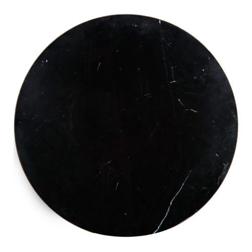 NAMUR CIRCULAR Tapa de mármol negro con bordes canteados. Encuéntrala en MisterWils. Más de 4000m² de exposición y almacén.