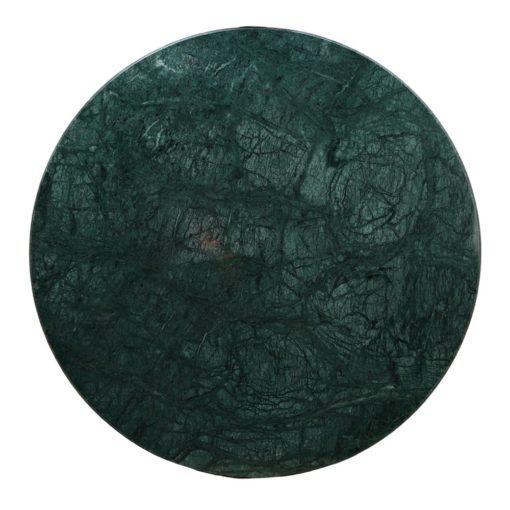 SAFARI CIRCULAR Tapa de mármol verde con bordes redondeados. Encuéntrala en MisterWils. Más de 4000m² de exposición y almacén.