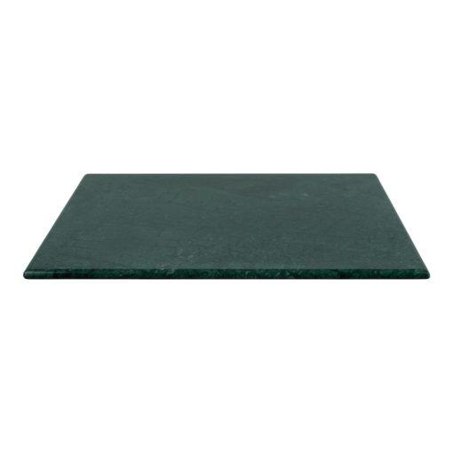 SAFARI CUADRADA Tapa de mármol verde con bordes redondeados. Encuéntrala en MisterWils. Más de 4000m² de exposición y almacén.