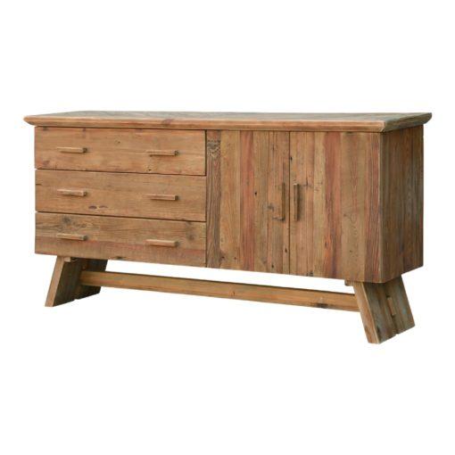 HELGADY Aparador estilo Rústico Contemporáneo de madera reciclada. Encuéntralo en MisterWils. Más de 4000m² de exposición y almacén.