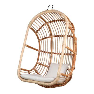 EGG Silla colgante de estilo Exótico fabricada en rattan natural. Encuéntrala en MisterWils. Más de 4000m² de exposición y almacén.