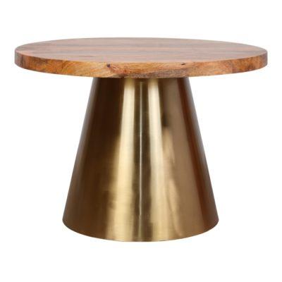 BETSY MADERA Mesa de comedor y mesa de centro con tapa de madera. Encuéntrala en MisterWils. Más de 4000m² de exposición y almacén.
