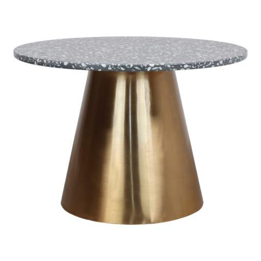 BETSY TERRAZO Mesa de comedor y mesa de centro con tapa de terrazo. Encuéntrala en MisterWils. Más de 4000m² de exposición y almacén.
