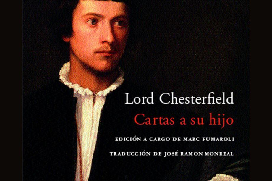 Portada libro Cartas a su hijo de Lord Chesterfield
