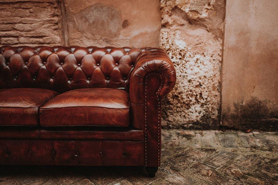 El sillón Chesterfield, el gran aliado de Freud