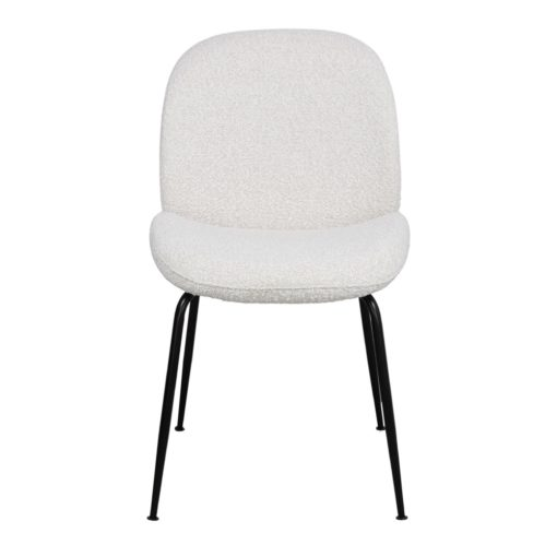 silla tapizado lana bouclé