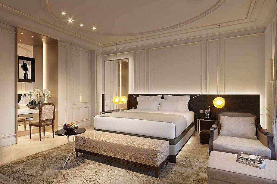 decoración de una habitación del hotel Mandarin Oriental Hotel Group