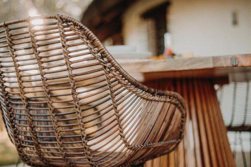 silla de rattán natural VIGGO 5