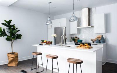 Taburetes de cocina o counter stools para crear espacios de diseño