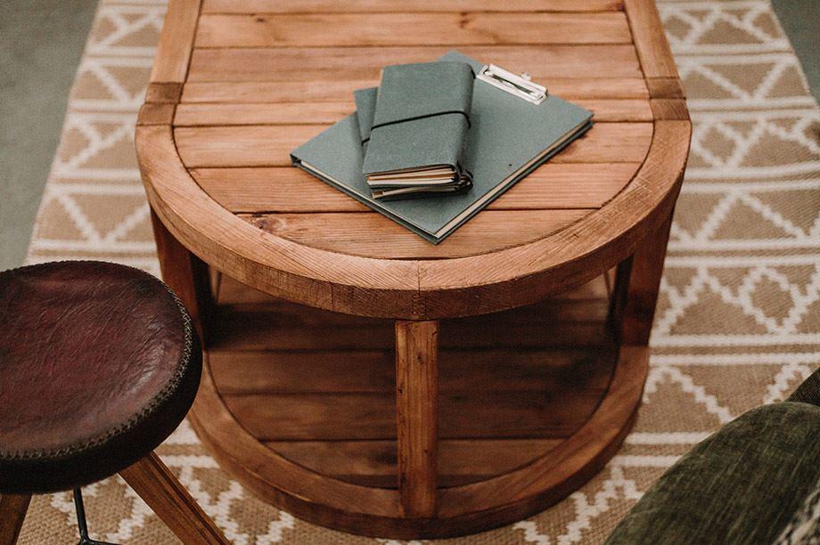 La madera reciclada es tendencia en decoración