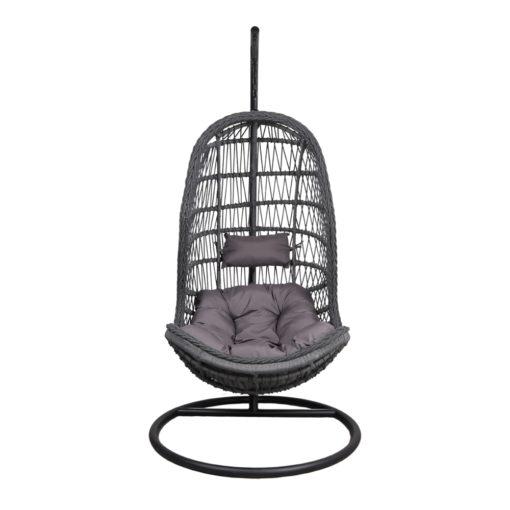 SILLA COLGANTE MARINETTE de cuerda tipo Egg Chair. Encuéntrala en MisterWils. Más de 4000m² exposición y almacén.2
