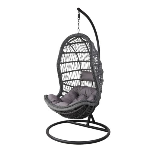 SILLA COLGANTE MARINETTE de cuerda tipo Egg Chair. Encuéntrala en MisterWils. Más de 4000m² exposición y almacén.1