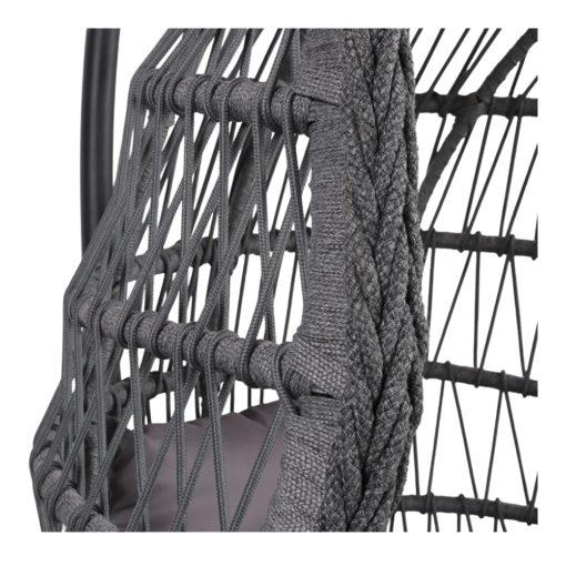 SILLA COLGANTE MARINETTE de cuerda tipo Egg Chair. Encuéntrala en MisterWils. Más de 4000m² exposición y almacén.3
