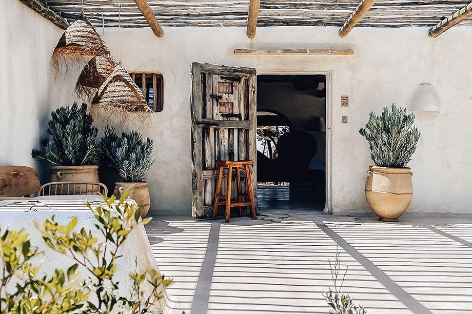 decoración estilo rústico-mediterráneo