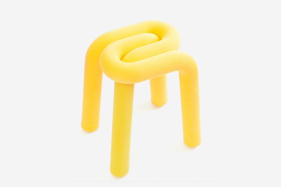muebles con curvas: taburete bold