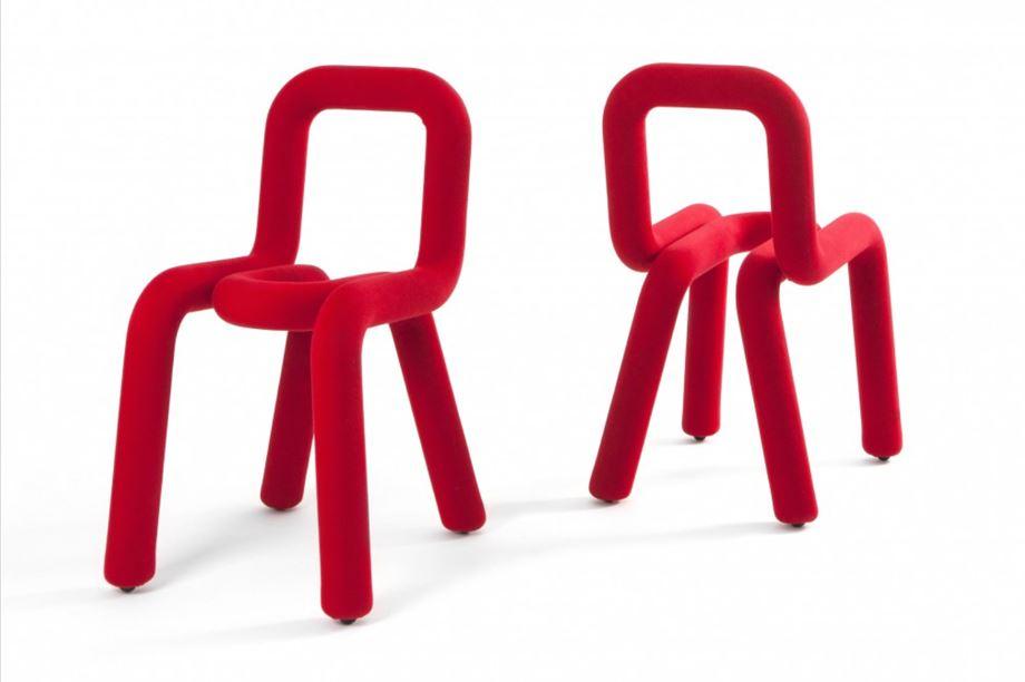 muebles con curvas: sillas bold