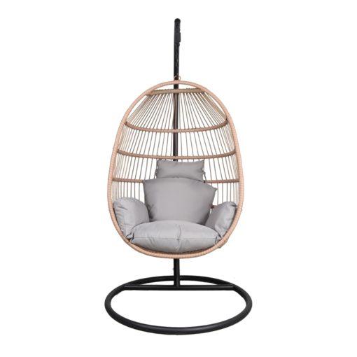 SILLA COLGANTE CLAUDINE de cuerda tipo Egg Chair. Encuéntrala en MisterWils. Más de 4000m² exposición y almacén.2