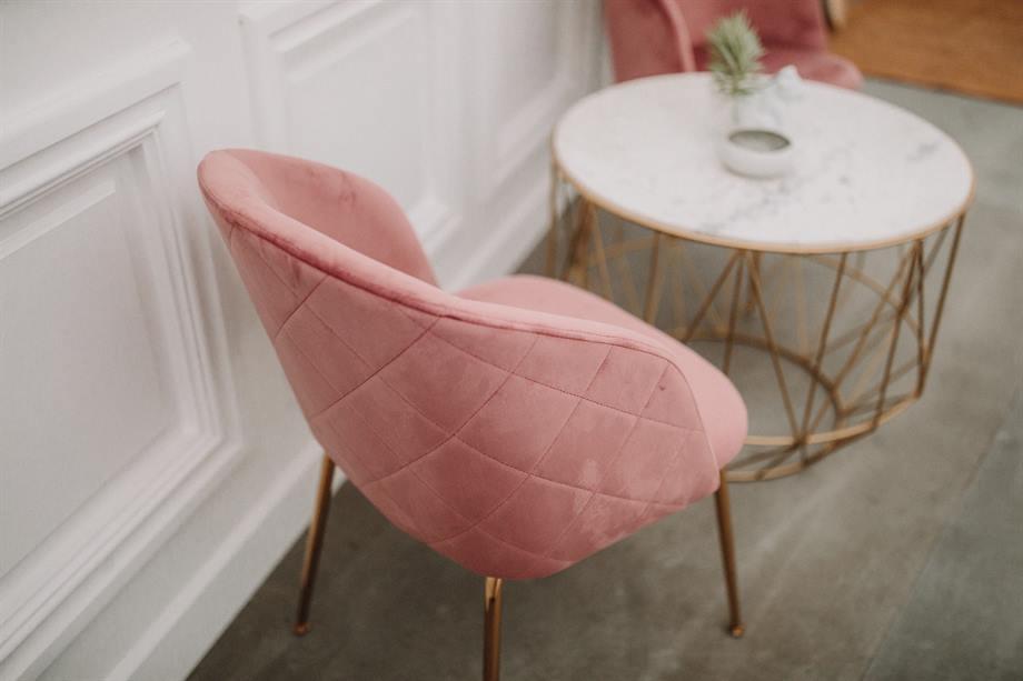 silla tapizada presupuesto low cost