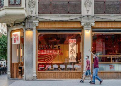 El restaurante Frankie's Burger Bar ha inaugurado en el centro de Valencia