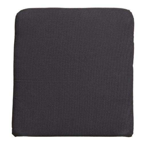 COJÍN PARA ASIENTO KISSEN para sillas y taburetes de rattán. Funda textil. Relleno con espuma de alta densidad. 1