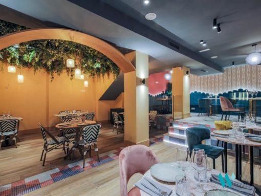 La Lupa, un restaurante en el centro de Madrid inspirado en el Art Decó.