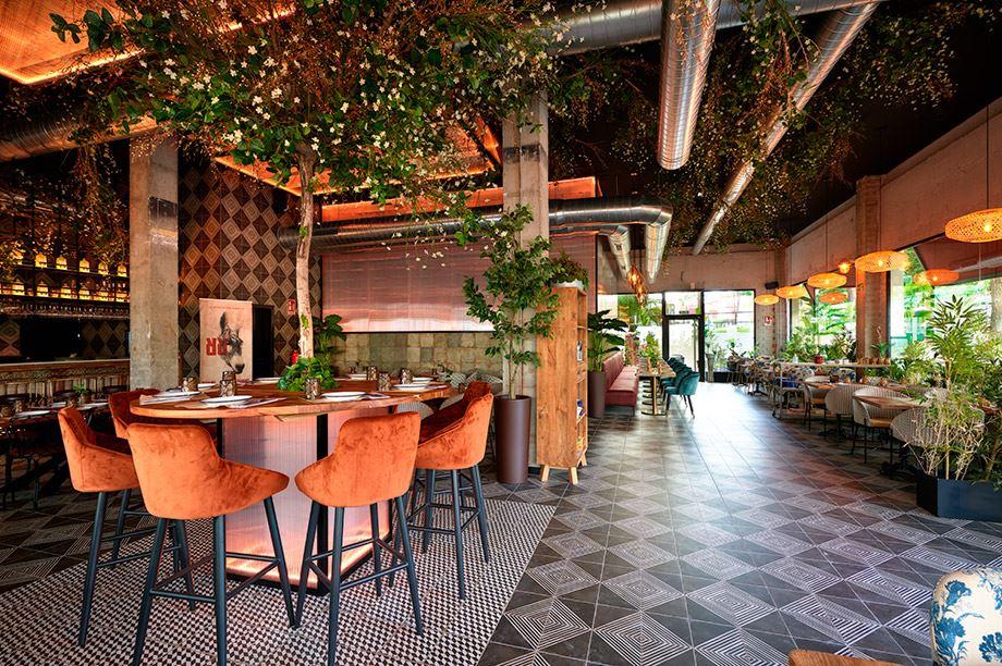 estilos de decoración de restaurantes - Burro Canaglia Tomares